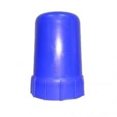 Колпак для баллона СИНИЙ пластик