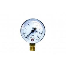 Манометр на редуктор углекислотный,аргоновый 16 МПа (160 кгс/см кв,кл. т. 2,5)
