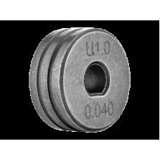 РОЛИК ПОДАЮЩИЙ SPOOL GUN 1.0—1.2 (АЛЮМИНИЙ) IZH0543-01