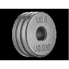 РОЛИК ПОДАЮЩИЙ SPOOL GUN 0.8—1.0 (АЛЮМИНИЙ) IZH0542-01