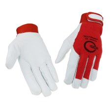 WorkMaster STG0110, Перчатки со вставкой из козьей кожи (10/100)